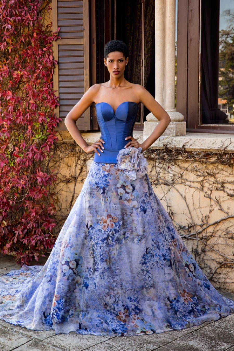 MODERN BRIDAL GOWNS IN BLUE9