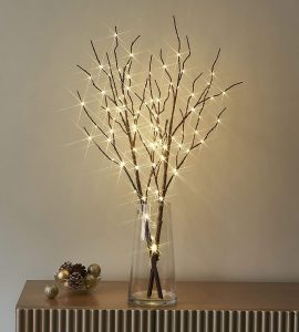 Decoration with Tree Branches
