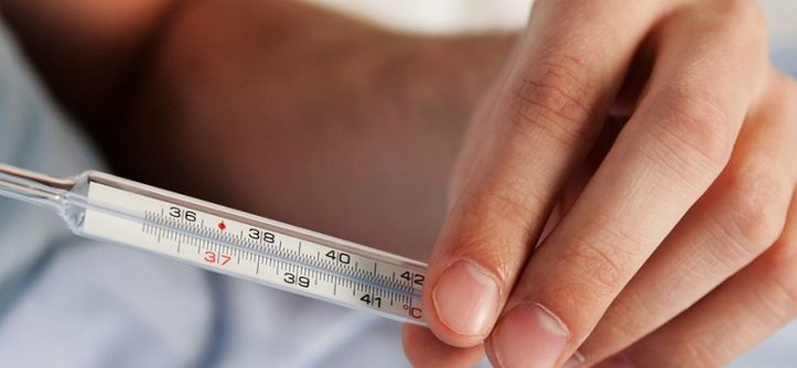 How to sanitize thermometer
