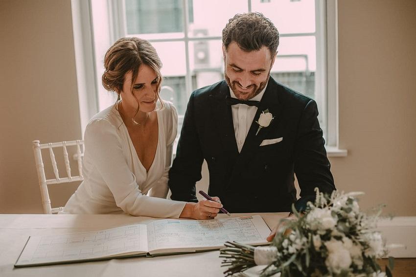 Intimate wedding plan